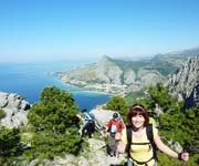 Hiking on the Omis Dinara