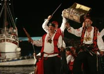 Pirate nights in Omis