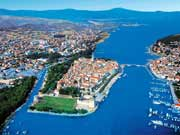trogir from air