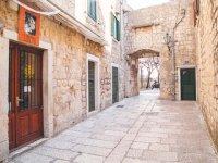 Charming stone street